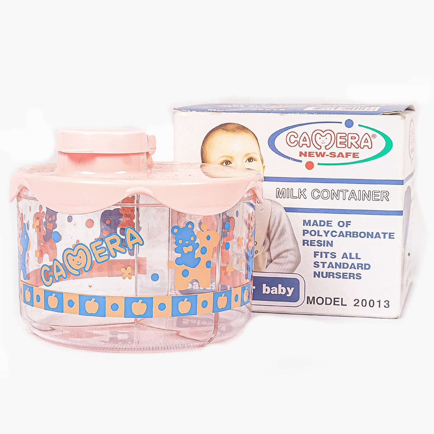 Camera Milk Container For Kids 1