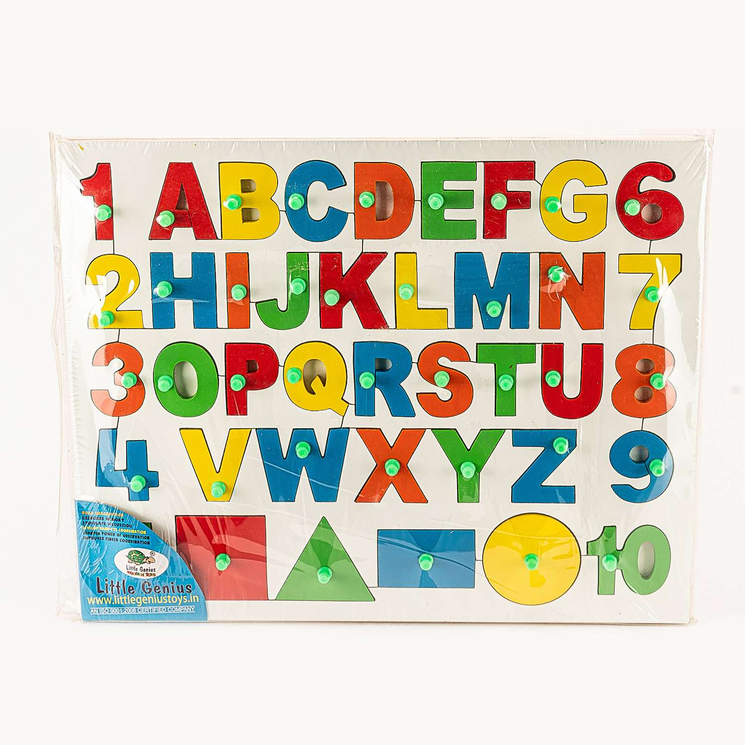 Multicolored Wooden Alphabets Numbers And Shapes 1