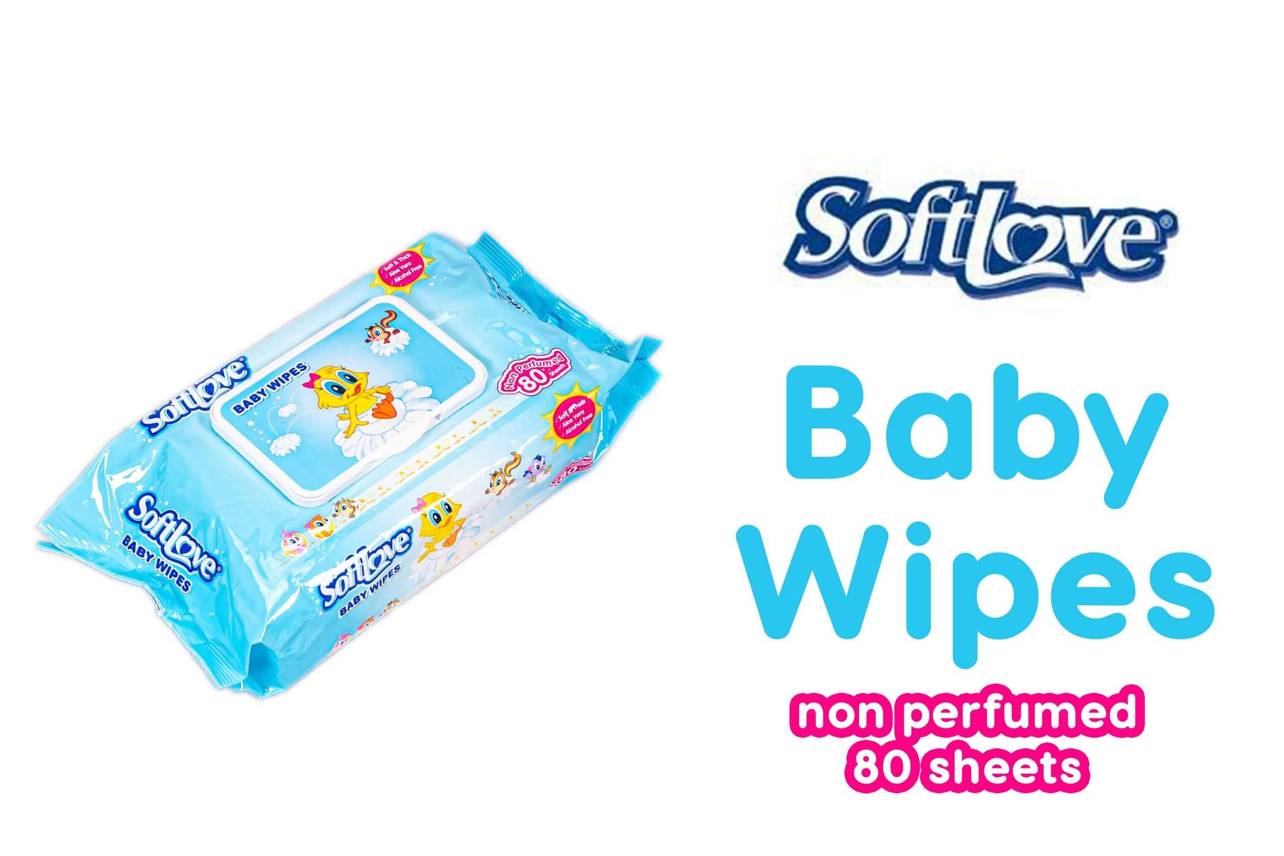 Soft love baby wipes non perfumed design 4 scaled