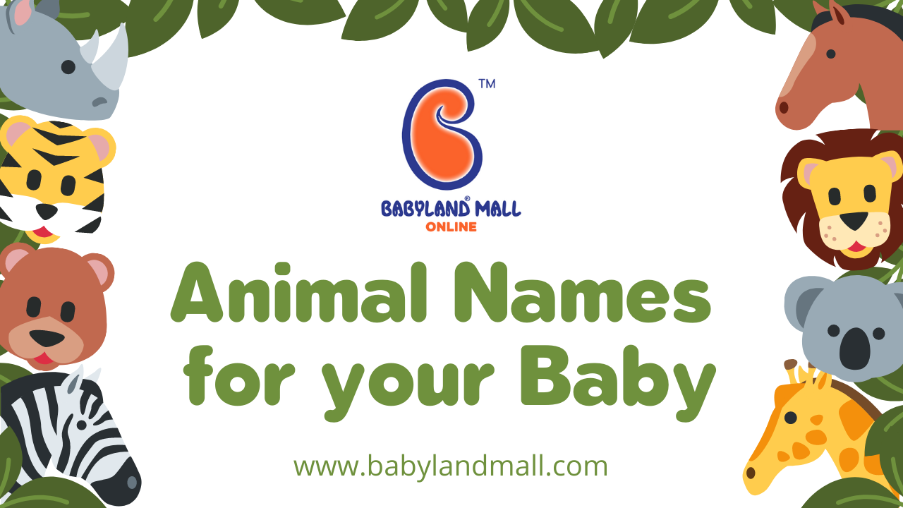 Animal Names for your Baby | Baby Animal Names